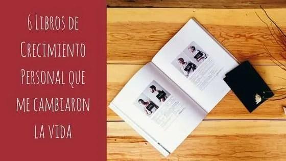 Los 6 libros de crecimiento personal