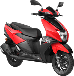 TVC Ntorq 125 2018 Red Metallic
