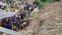 Bencana Tanah Longsor di Karo, 5 Orang Meninggal