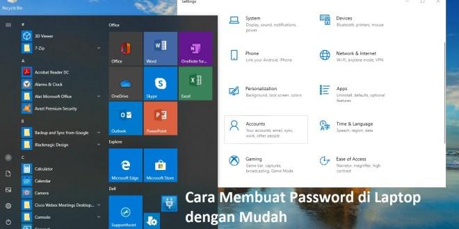 Cara Membuat Password di Laptop dengan Mudah (1)