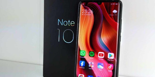 Spesifikasi dan Harga Xiaomi Mi Note 10 Lite (5)
