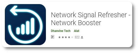 Aplikasi Penguat Sinyal 4G - Network Signal Refresher Lite -1