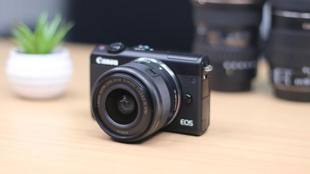 Kamera Canon Paling Bagus - Canon EOS M100