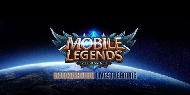 Cara Live Streaming Mobile Legend Mudah di Facebook dan Youtube