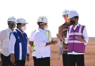Tinjau KIT Batang, Presiden: Kawasan Ini Akan Menyerap Banyak Tenaga Kerja dan Gerakkan Ekonomi Nasional