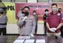 Kedapatan Membawa Sabu, Pria Asal Boltim Diringkus Satreskrim Polres Bolmong Utara