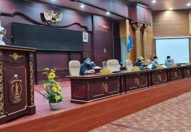 Rapat Paripurna ke 10 Masa Sidang I Tahun 2021-2022 Penyampaian Nota Pengantar Rancangan KUA PPAS APBD Perubahan Tahun Anggaran 2021