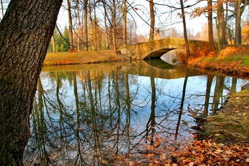 Jeden z wielu parków w Jeleniej Górze.