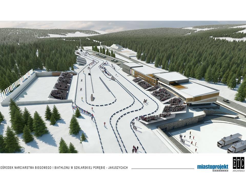 Tak będzie wyglądać Dolnośląskie Centrum Sportu w Jakuszycach (WIZUALIZACJE)