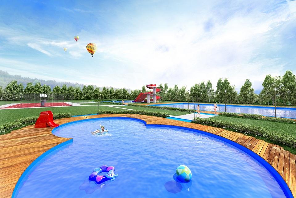 W Nowej Rudzie powstanie nowy darmowy basen letni (WIZUALIZACJE)