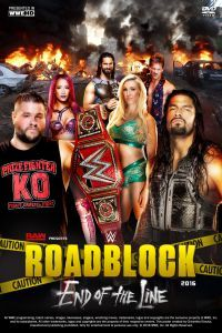 WWE Roadblock End of the Line 18 Dec (2017)