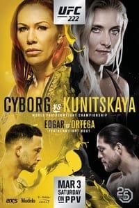 UFC 222: Cyborg vs. Kunitskaya (2018)