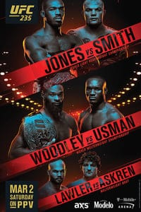 UFC 235: Jones vs. Smith (2019)