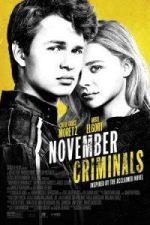 Nonton Film November Criminals (2017) Subtitle Indonesia Streaming Movie Download