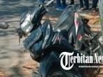 Motor Tabrak Pohon, Karyawan KSP Kritis
