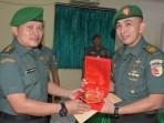 Tradisi Corps Raport Pelepasan Perwira Korem 152/Babullah