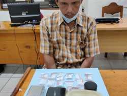 Sabu Dengan Berat Kotor 58,63 Gram Diamankan Satresnarkoba Polres Kotim Ditangan Iyan