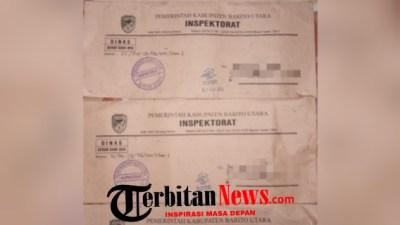 Lapor Dugaan Korupsi DD dan ADD Untuk Permintaan Ekspose dan Penyampaian Data, Warga Desa Jangkang Baru Terima Surat Kadaluarsa Dari Inspektorat