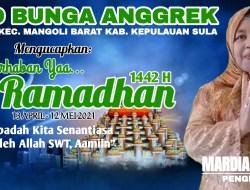 Paud Bunga Anggrek Mengucapkan Selamat Datang Bulan Suci Ramadhan 1442 H