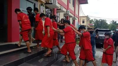 Gegara Bisnis Sabu! 9 Orang ini Harus Rela Berlebaran di Penjara, Satu Diantaranya Ibu Rumah Tangga