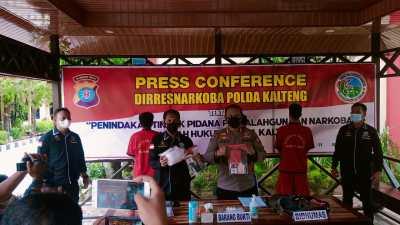 Dalam 2 Hari, Ditresnarkoba Polda Kalteng Amankan 1/2 Kg Sabu