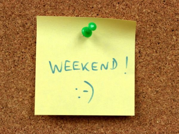 weekend, love friday's