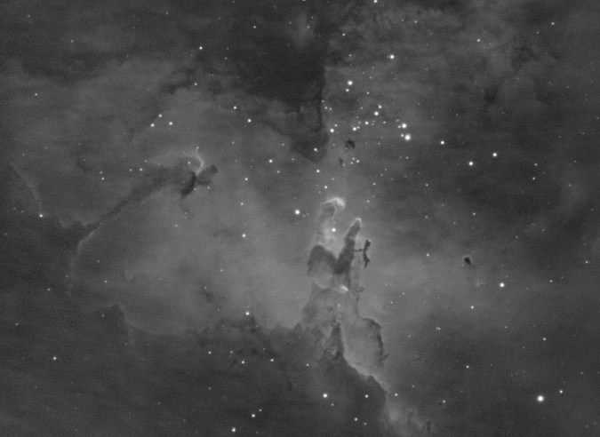 M16 Eagle Nebula HA Celestron EdgeHD Tanner Street Observatory 50perc