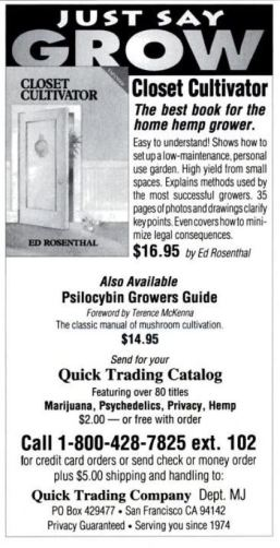 1994 - Mother Jones (Jan-Feb) - Psilocybin Magic Mushroom Growers Guide