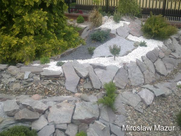 formowanie skalnego ogrodu