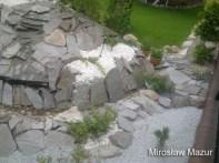 część niższa i wyższa skalnego ogrodu