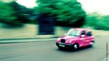 Pink cab speeeeeeed!