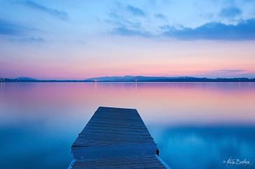 Tramonto sul lago 2