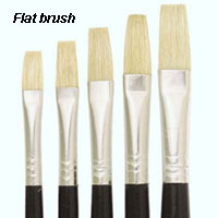 flat brush image