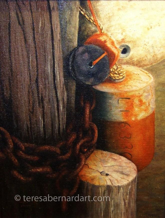 Marine Still Life painting