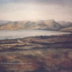 Sea Of Galilee At Capernaum painting