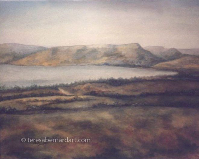 Sea of Galilee Holy Lands painting