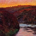 monet sunset valley creus