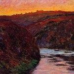 monet sunset valley creus