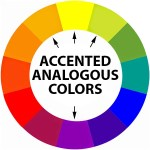 accented analogous colors