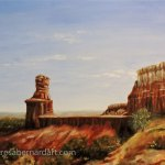 Lighthouse Monument, Palo Duro Canyon wall art