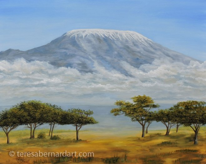 Mt Kilimanjaro Rising