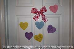 Learning to communicate love is vital in friendships, family relationships and marriage. A Valentine activity is a good way to teach lessons is love.