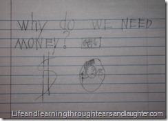 teaching kids about the value of money