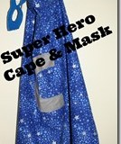 How To Make A Super Hero Cape Tutorial