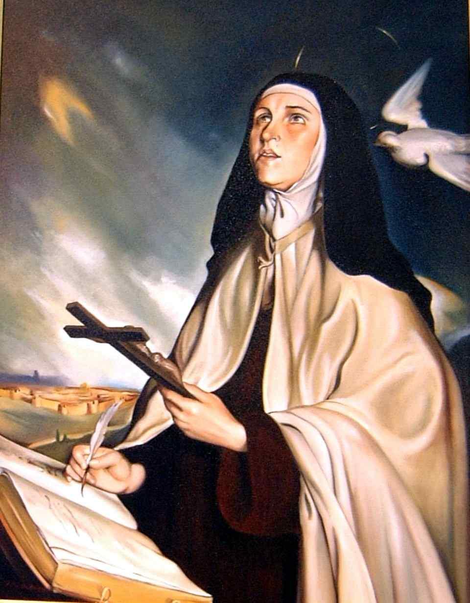 Resultado de imagem para Santa Teresa de Jesus