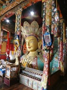 Maitreya Buddha Statue near Leh