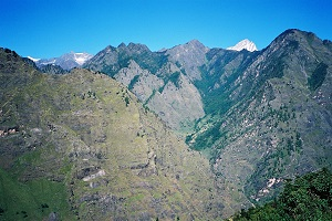 Mountains near Joshimath, Uttarakhand, Himalayas 2003