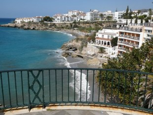 Beaches, hotels and apartments in Nerja