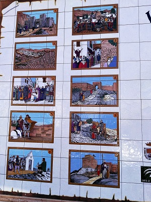 Colourful tiles tell a historical story