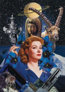 Teresa Goodin   Capricorn - The Ruler   Handcrafted collage   210mm x 297mm   2019